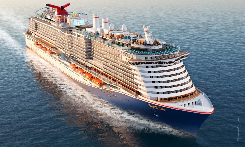 Mardi Gras es el nuevo barco de Carnival Cruise Line impulsado por Gas Natural Licuado