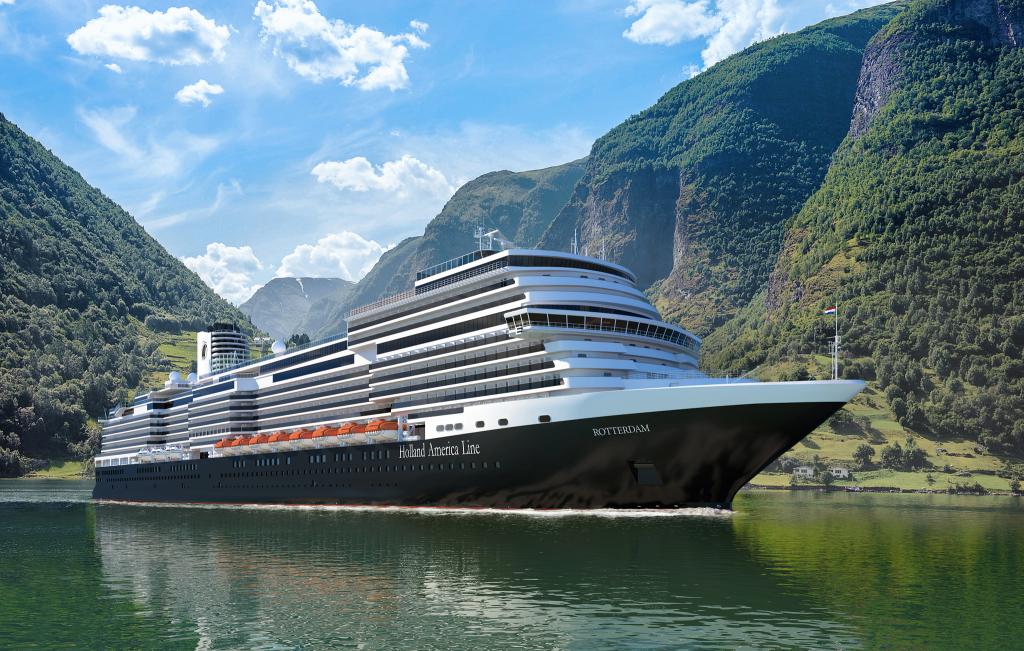 Rotterdam será el 7º barco de Holland America Line con ese nombre